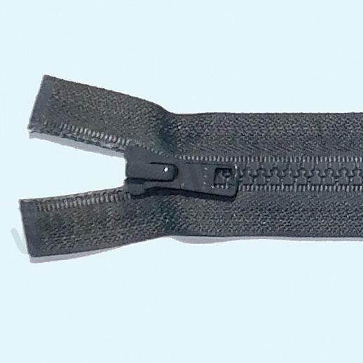 NEU: YKK Reißverschluß - ideal für Jacken - teilbar - super Qualität - schiefergrau