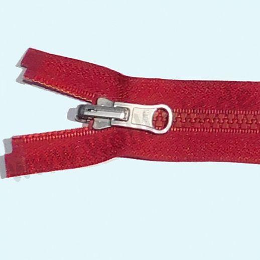 NEU: YKK Wende-Reißverschluß - ideal für Wende-Jacken - teilbar - super Qualität - burgund