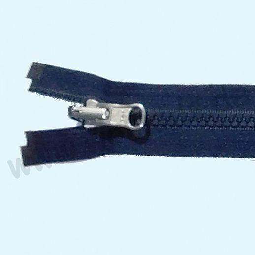 NEU: YKK Wende-Reißverschluß - ideal für Wende-Jacken - teilbar - super Qualität - navy